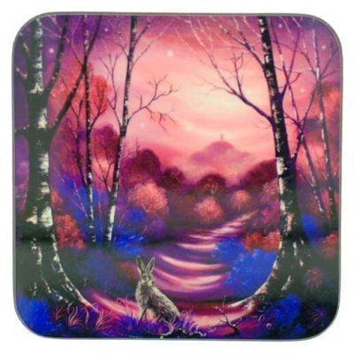 Beyond the Magenta Mists Coaster 31084