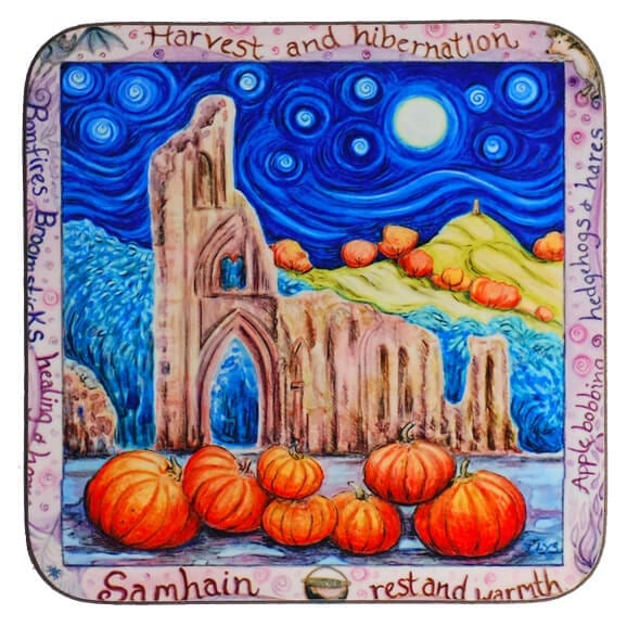 Bonfires & Broomsticks Coaster 31110