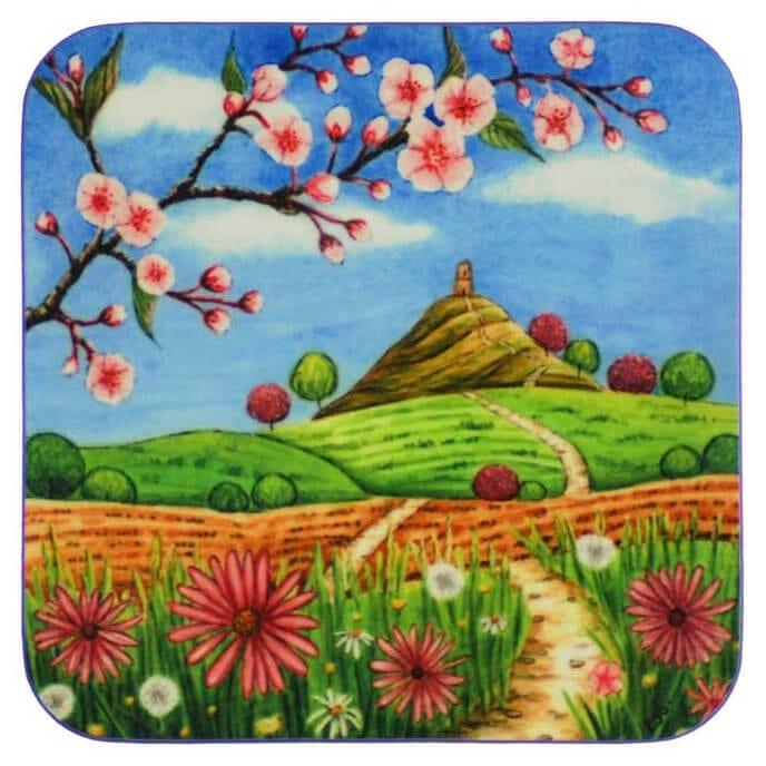 Cherry Blossom Coaster 34985
