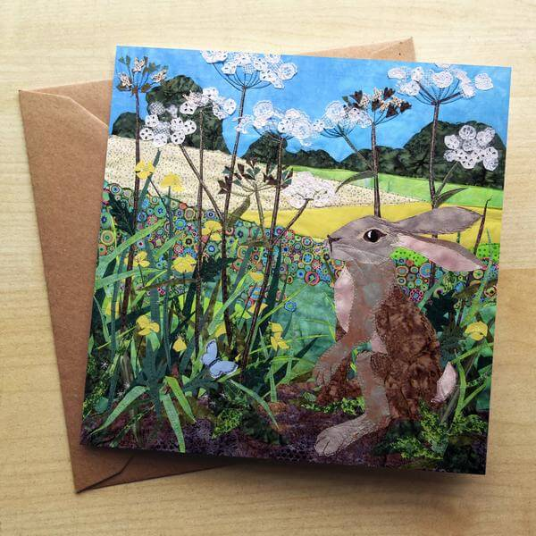 Buttercup Hare Card