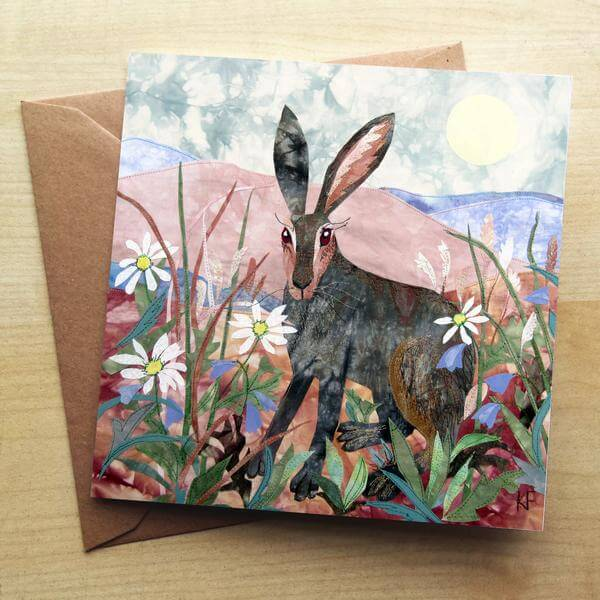 Noonday Hare Card