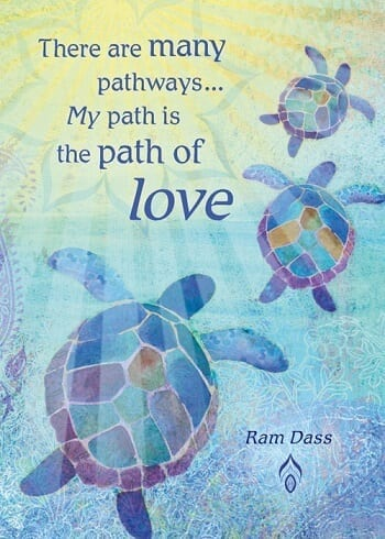 My Path Is The Path of Love Card
