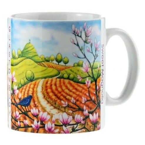 sweet magnolia mug 27023