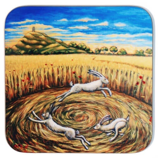 Hares of the Harvest Coaster 31053