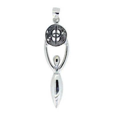 Goddess Chalice Well Pendant (Vesica Pisces) 5742