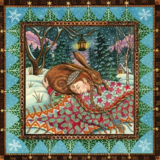 Hare Hug Card by Wendy Andrew