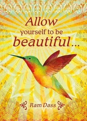 Allow Yourself To Be Beautiful Card