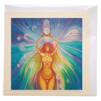 goddess of light card