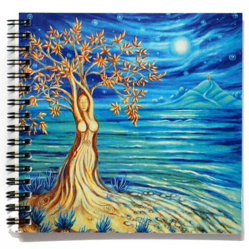 Glastonbury Goddess Notebook 51075