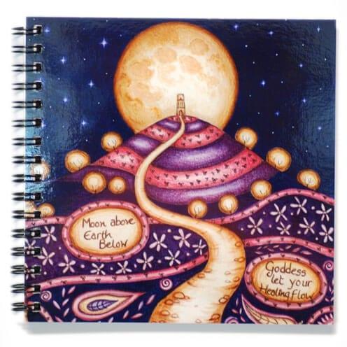 Healing Goddess notebook 53409