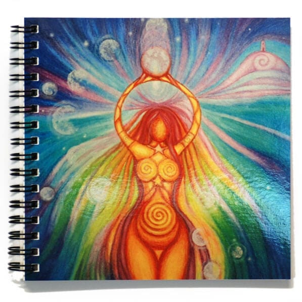 Goddess of Light Notebook 56057