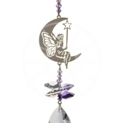 Crystal Fantasy - Fairy With Wand - Purple