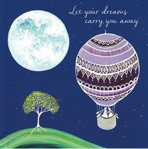 Let Your Dreams Carry You Away Card