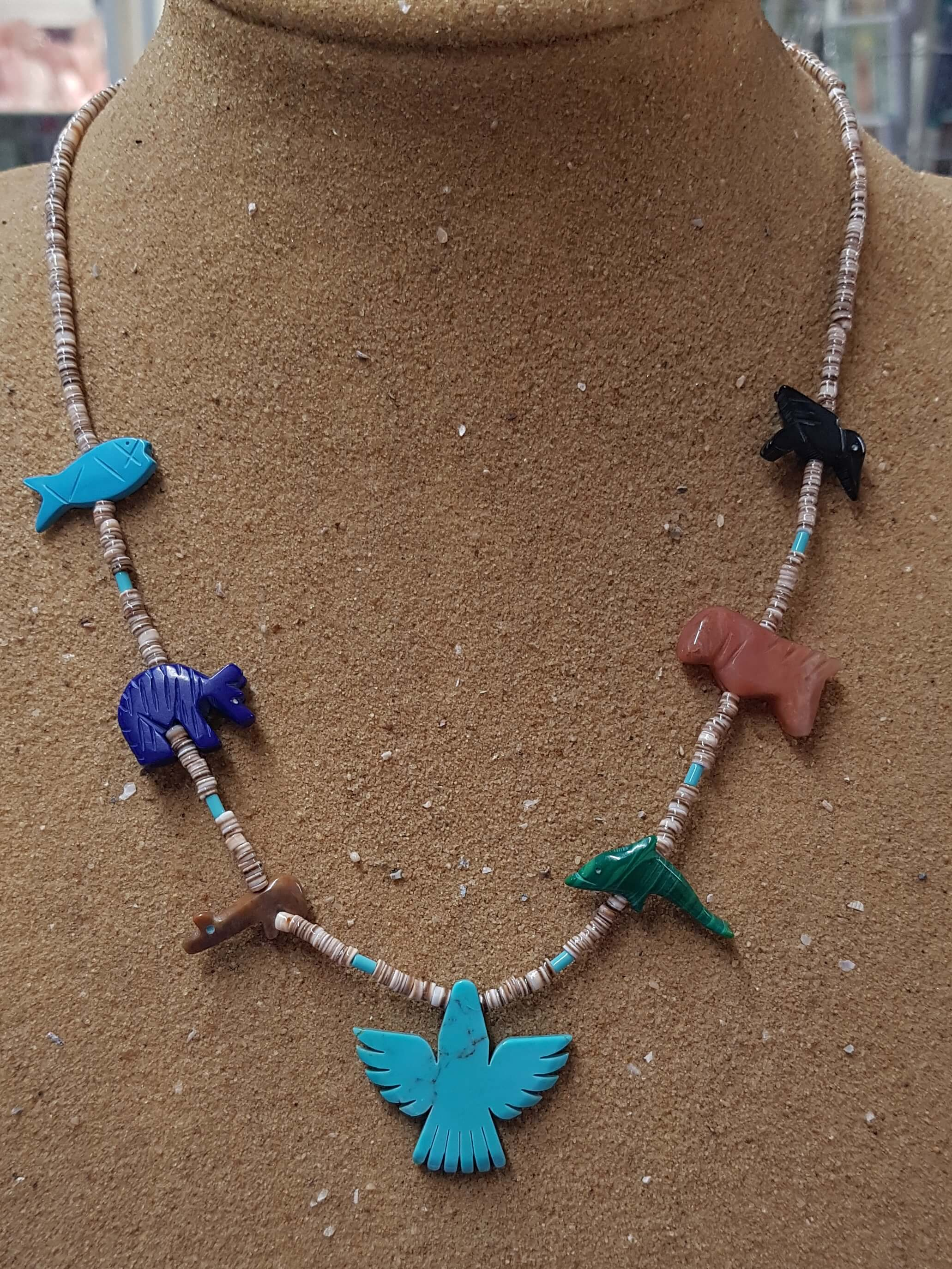 Matt Mitchell Thunderbird Fetish Necklace