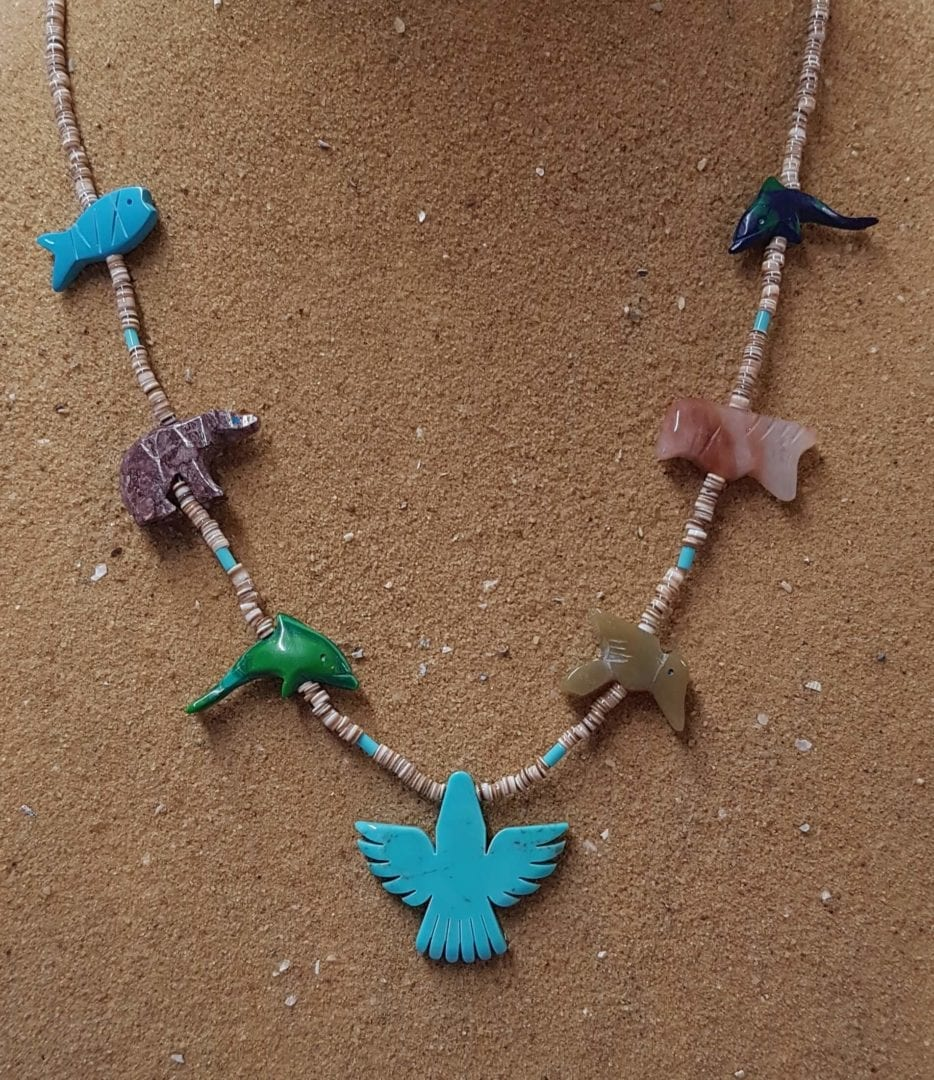 Thunderbird Fetish Necklace by Matt Mitchell