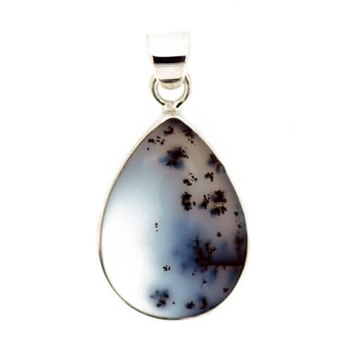 Merlinite (Dendritic Opal) Pendant 4.5 grams