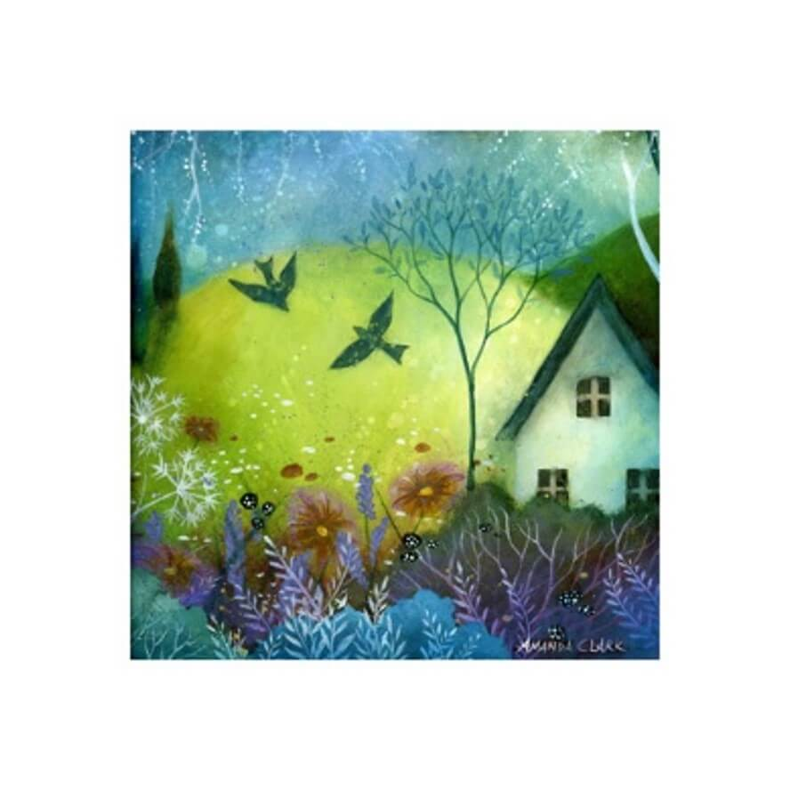 A New Day Card by Amanda Clark