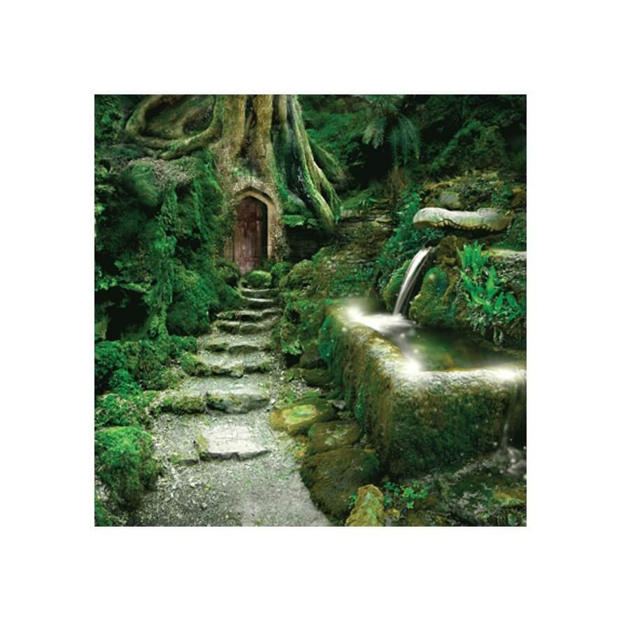 Entrance to Rivendell Card by Angie Latham