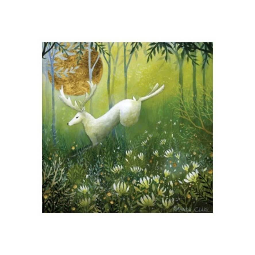 Golden Light of Dawn Card by Amanda Clark