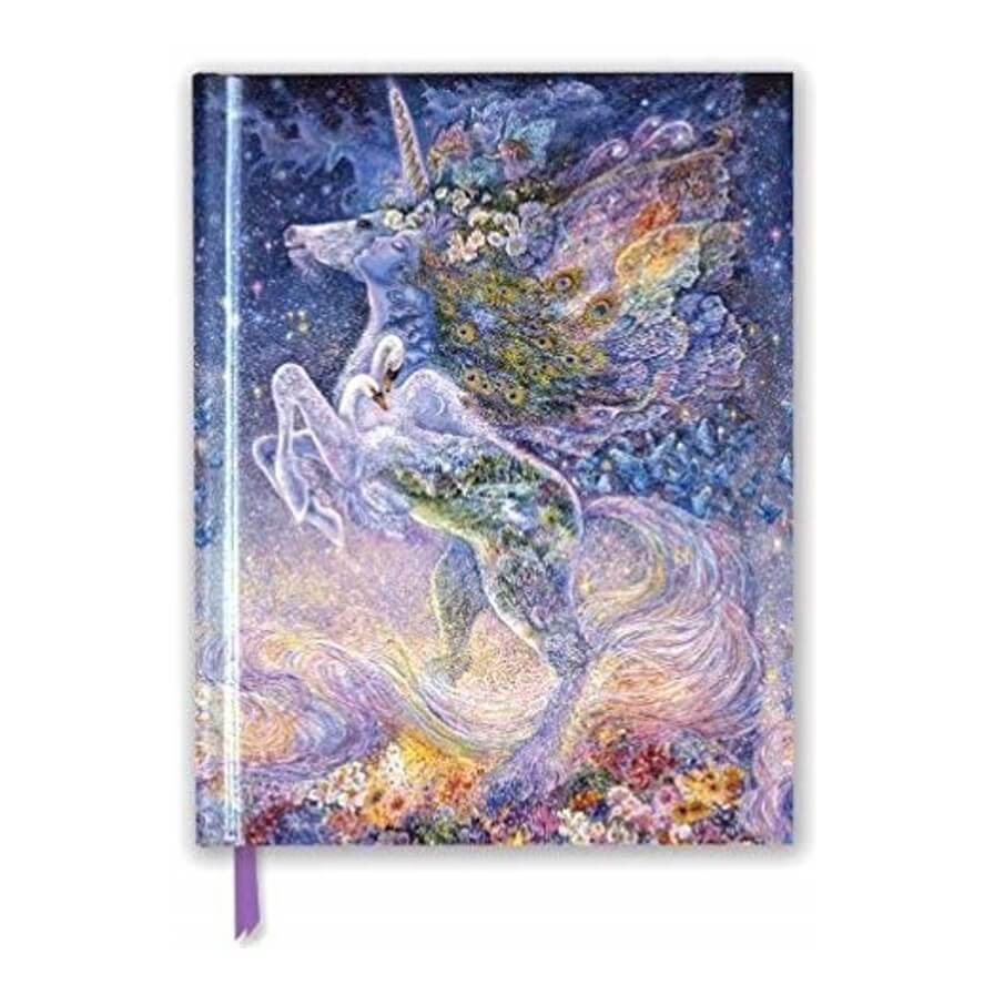 Josephine Wall - Soul of a Unicorn (Black Sketch Book)