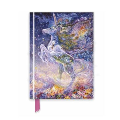 Josephine Wall - Soul of a Unicorn (Foiled Desk Journal)
