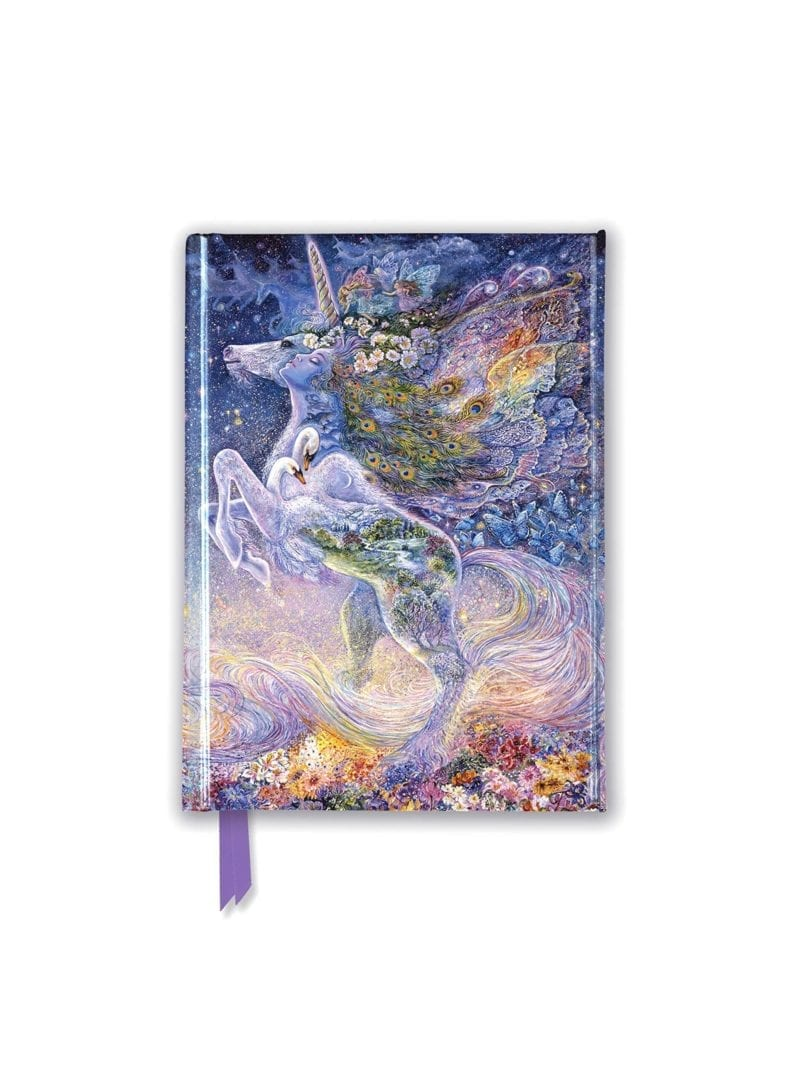 Josephine Wall: Soul of a Unicorn (Foiled Pocket Journal)