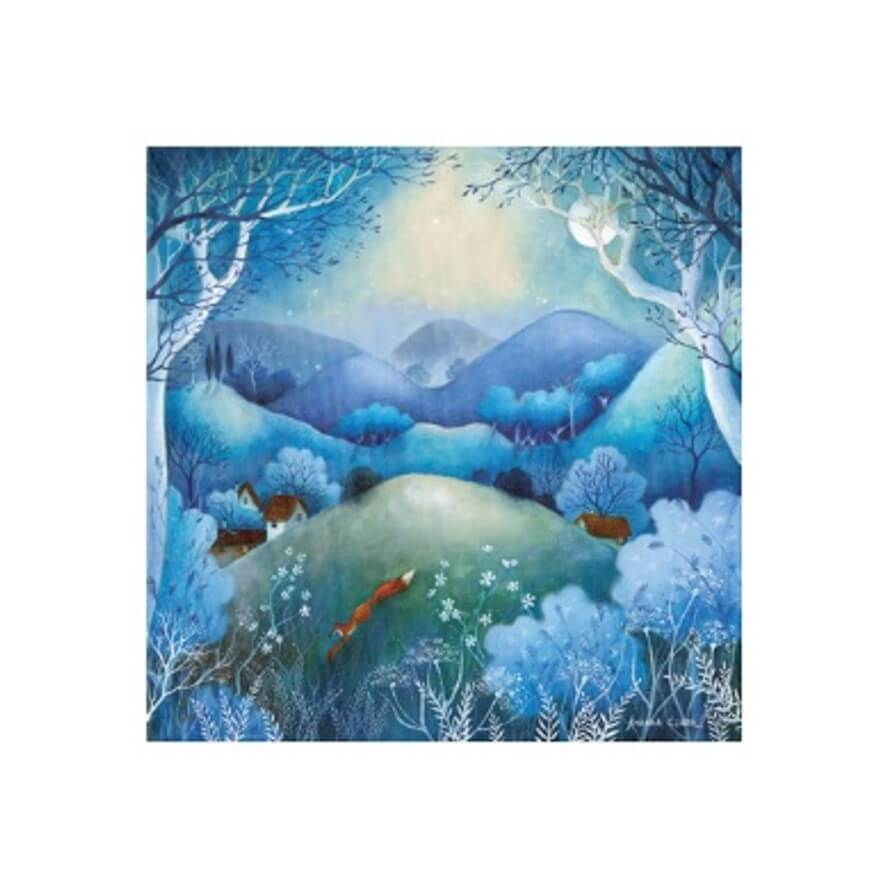 Midnight Meadows Card by Amanda Clark