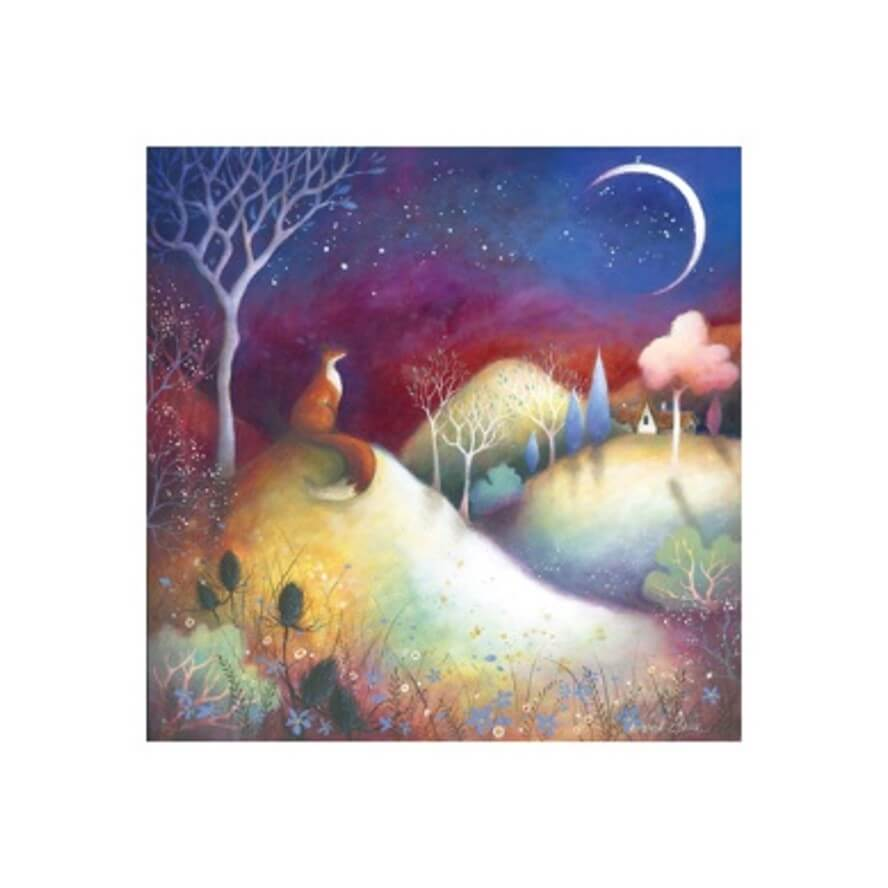 Starry Meadows Card by Amanda Clark
