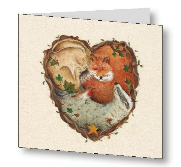 Heart of the Woodland Card