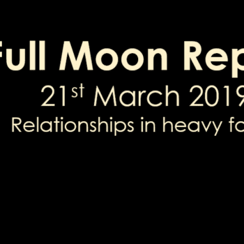 Full Moon Report - 21st March 2019
