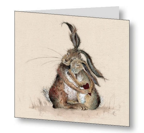 Hares My Heart Card