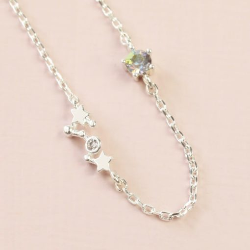 Scorpio Constellation & Birthstone Necklace