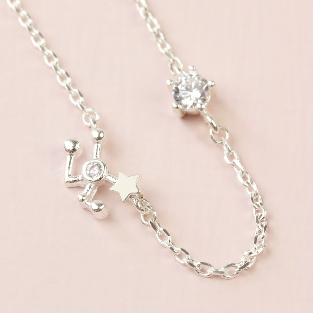 Taurus Constellation & Birthstone Necklace