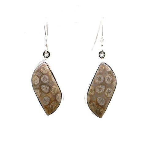 Glastonbury Coral Earrings