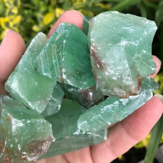 Green Calcite 40-70 grams