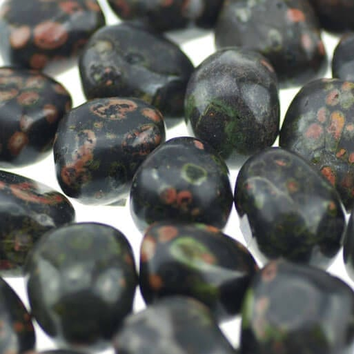 red-snowflake-obsidian
