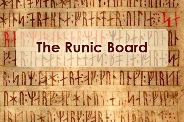 The Runic Board