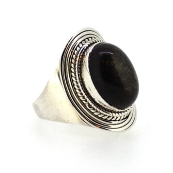 Golden-Sheen-Obsidian-Ring-Size-L-M-7395