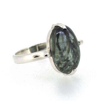 Seraphinite-Ring-Size-O-7390