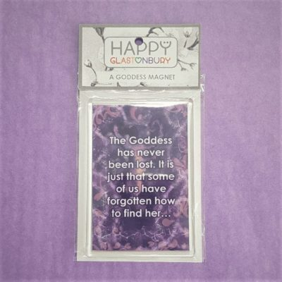 The Goddess Has Never Been Lost Magnet