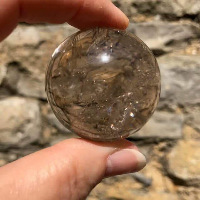Smoky Quartz Sphere 38mm