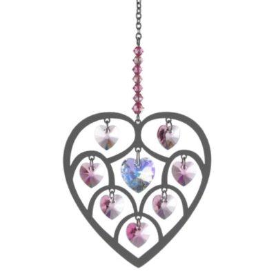 Heart of Hearts Rainbow Maker - Rose