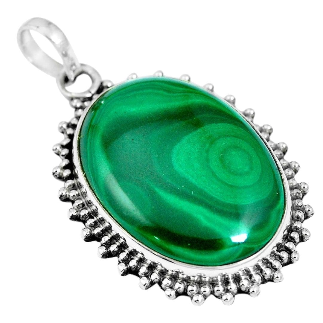 Malachite Pendant 11.1 grams