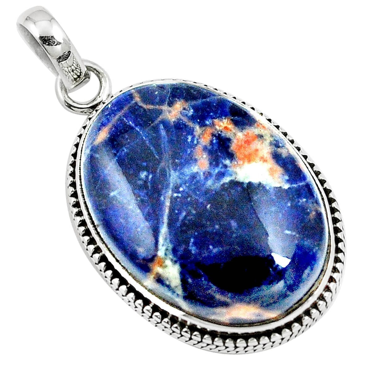 Sunset Sodalite Pendant 8.6 grams
