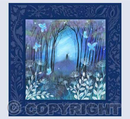 Indigo Night Card