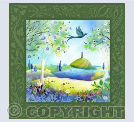 Spring Light Card by Amanda Clark