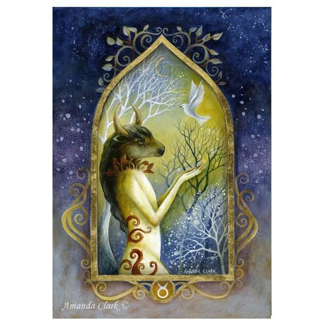 Taurus Card by Amanda Clark